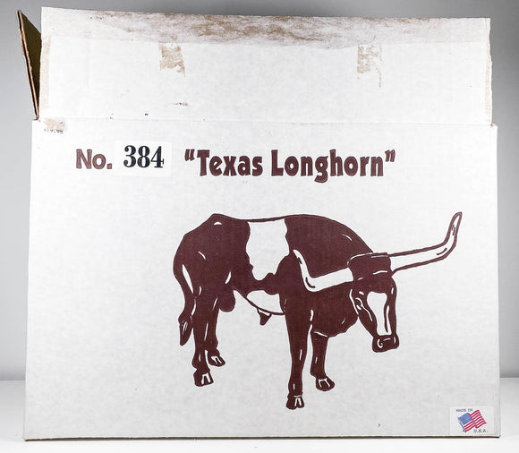 Box:  Texas Longhorn #384 Spotted Bull