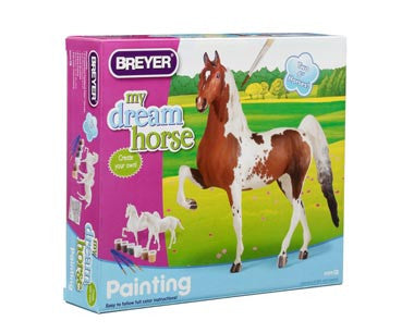 My Dream Horse Paint Your Own Horses Kit - Quarter Horse and Saddlebred