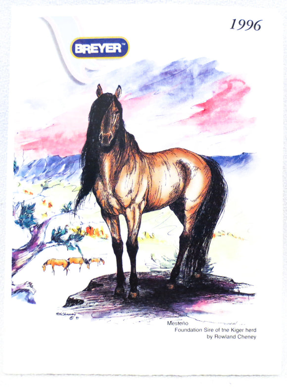 1996 Breyer Box Brochure - triple-mountain