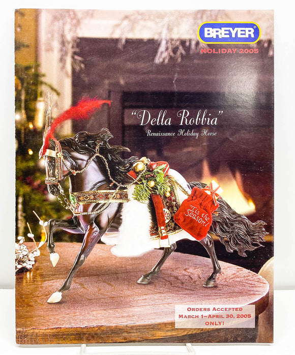 2005 Breyer Retailer Holiday Items Flyer - Della Robbia