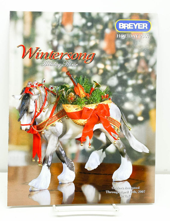 2007 Breyer Retailer Holiday Items Flyer - Wintersong