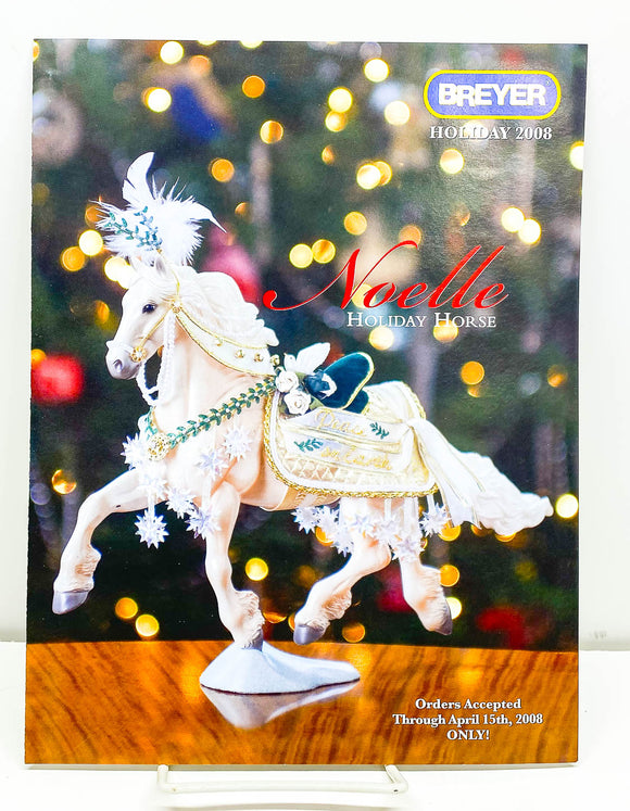 2008 Breyer Retailer Holiday Items Flyer - Noelle