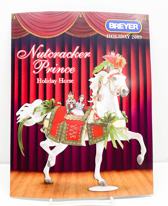 2009 Breyer Retailer Holiday Items Flyer - Nutcracker Prince