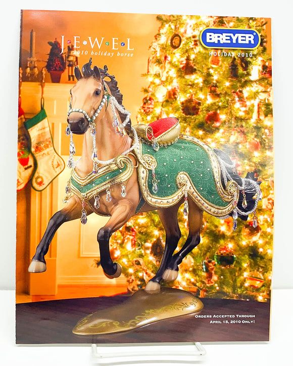 2010 Breyer Retailer Holiday Items Flyer - Jewel