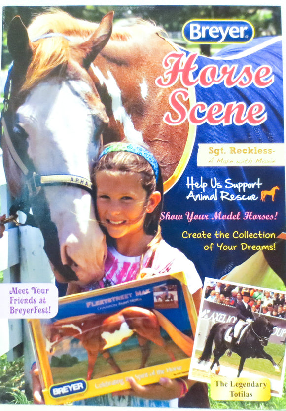 2012 Breyer Box Brochure - Paint Horse Cover