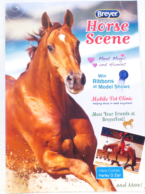 2014 Breyer Box Brochure - Sorrel QH Cover - triple-mountain