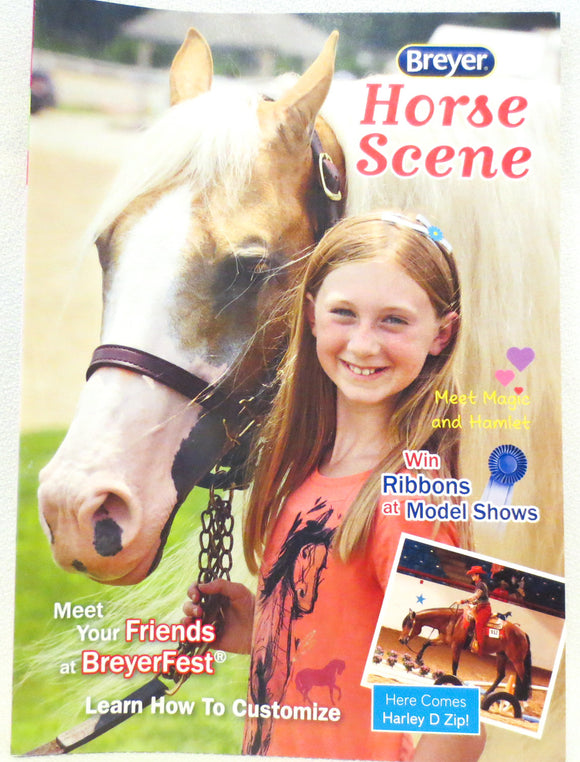 2014 Breyer Box Brochure - Palomino Cover - triple-mountain