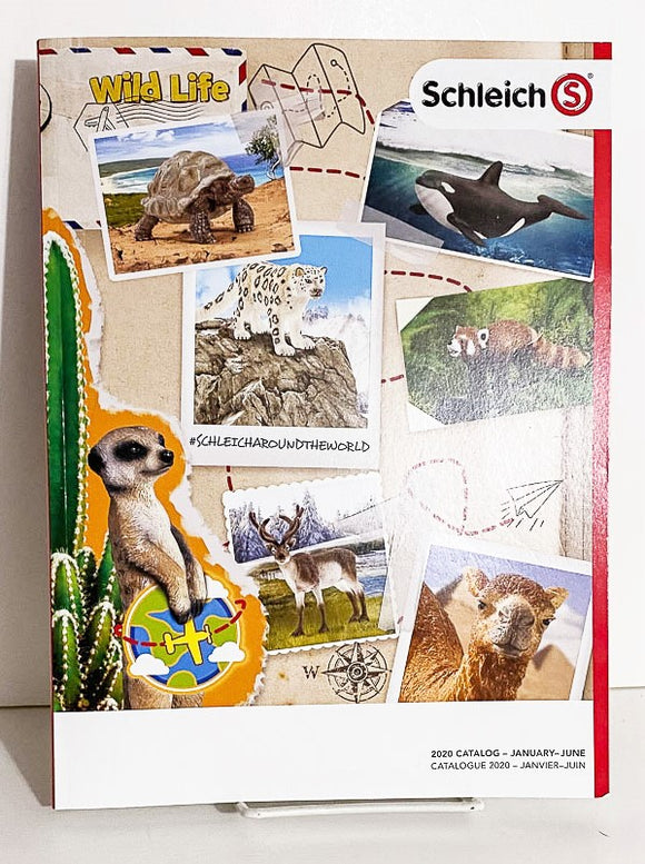 2020 Schleich Dealer Catalog Jan - June