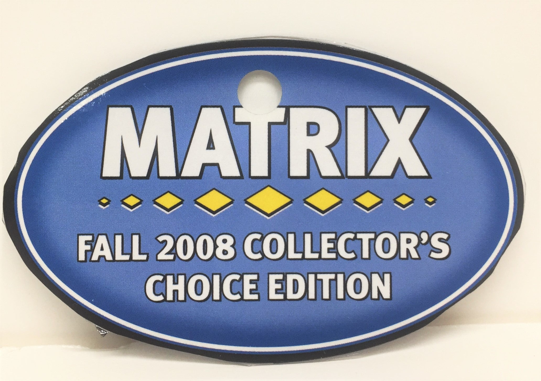 Box Sticker: Silver ~ Matrix