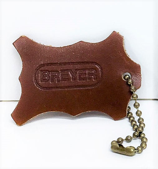 Breyer Leather Key Chain, Brown