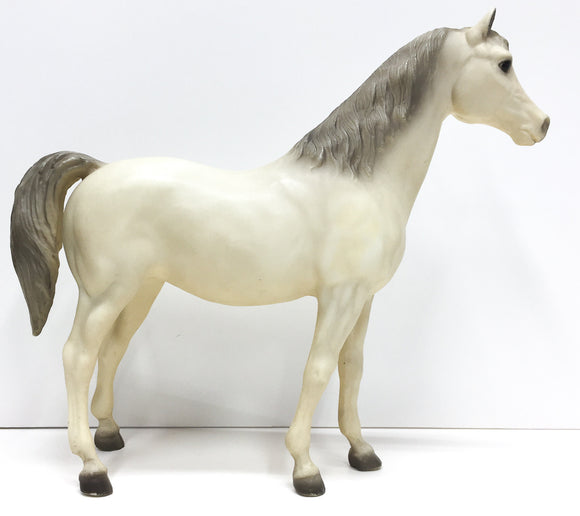 Family Arabian Mare ~ Pride -Alabaster, Matte - triple-mountain