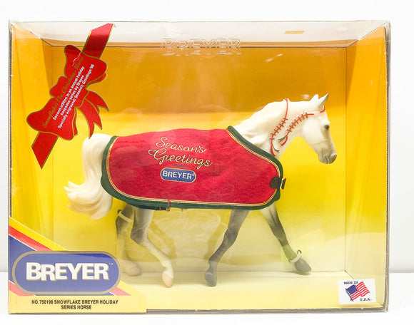 1998 Holiday Horse Missouri Fox Trotter ~ Snowflake
