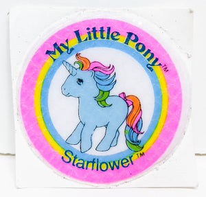 My Little Pony Puffy Sticker ~ Starflower - 1984/85