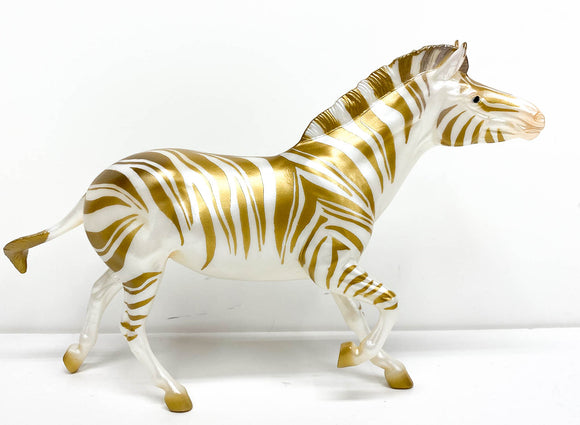 Zebra ~ Christmas Candy, Gold - Web Special 2019