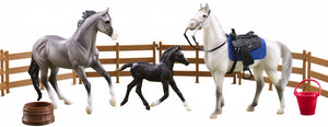 Heroes of the West Set - Man O' War, Harper, Haflinger Foal