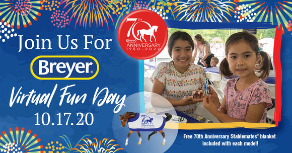 Breyer 70th Anniversary Virtual Fun Day Kit