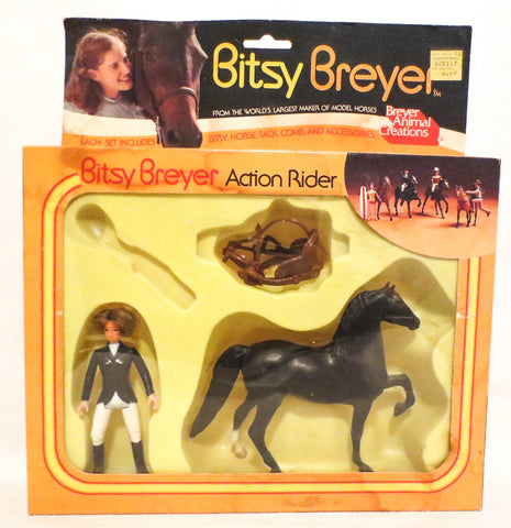Morgan, Black ~ Bitsy Breyer and Morgan English Set