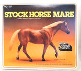 Stock Horse Mare, Sorrel w/ Cardboard Box & Brochure