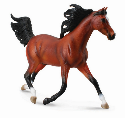 Arabian Stallion, Bright Bay (1:12 Scale)
