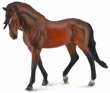 Andalusian Stallion, Bright Bay (1:12 Scale)