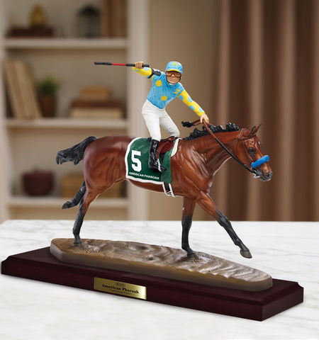 American Pharoah Resin