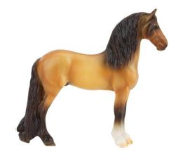 Standing Friesian, Buckskin  - ADVANCE SALE