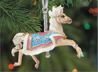 2017 Carousel Ornament ~ Flurry - ADVANCE SALE