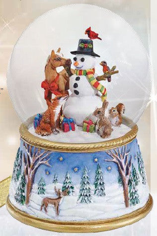 2017 Snow Globe ~ A Gathering of Friends