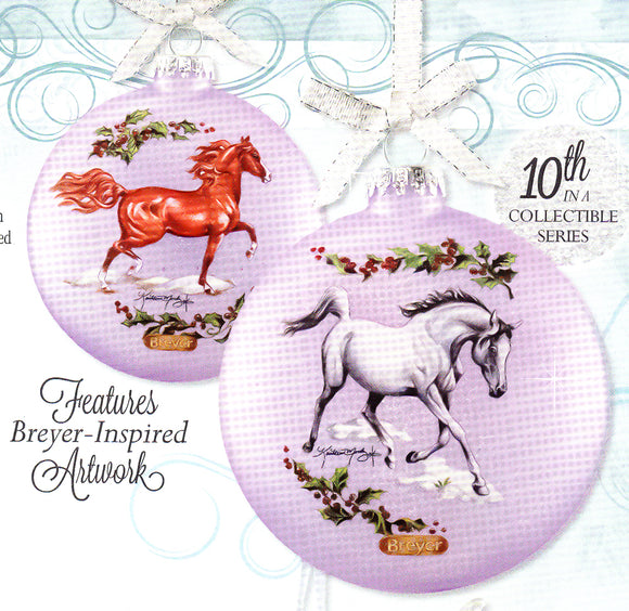 2018 Artist's Signature Ornament ~ Arabians by Kathleen Moody - ADVANCE SALE