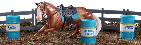 Barrel Racer, Palomino Paint
