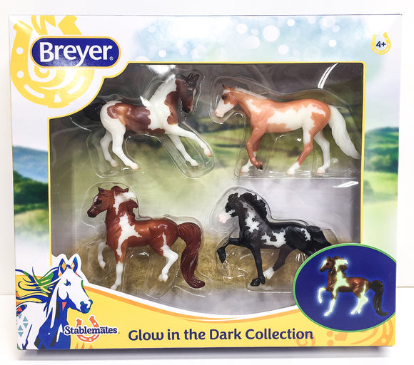 Glow In The Dark 4-Horse Set
