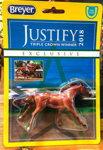 Thoroughbred ~ Justify - Undefeated Triple Crown Champion