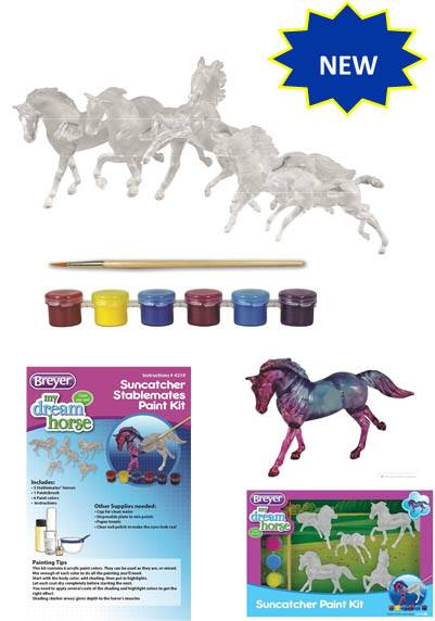 Stablemates Suncatcher Paint Kit