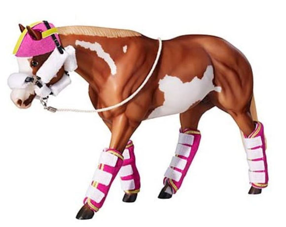Shipping Set:  Padded Halter, Head Bumper, and Four Shipping Boots
