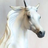 Arabian Mare, Grey - triple-mountain