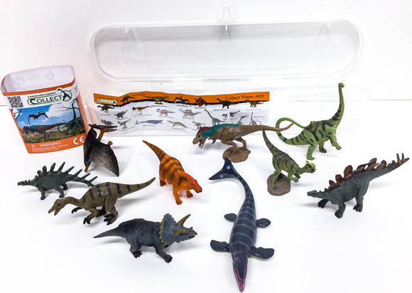 Box of Mini Dinosaurs - triple-mountain