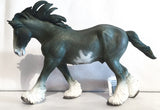 Clydesdale Stallion, Blue Roan - triple-mountain