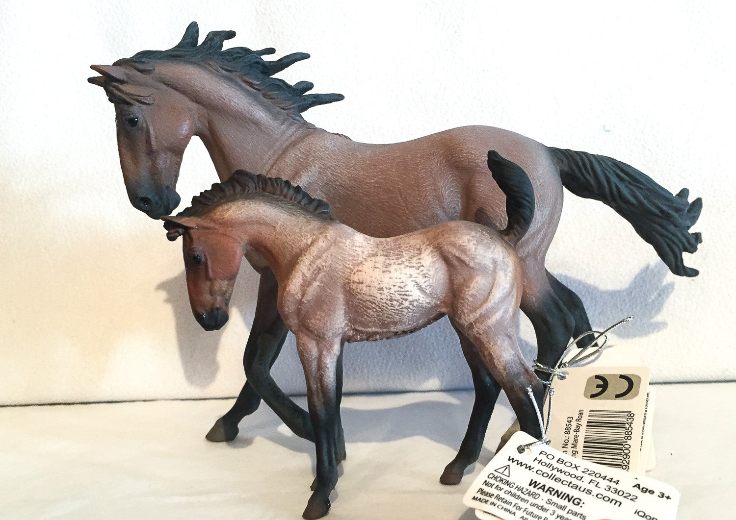 Bay Roan CollectA Mustang Mare