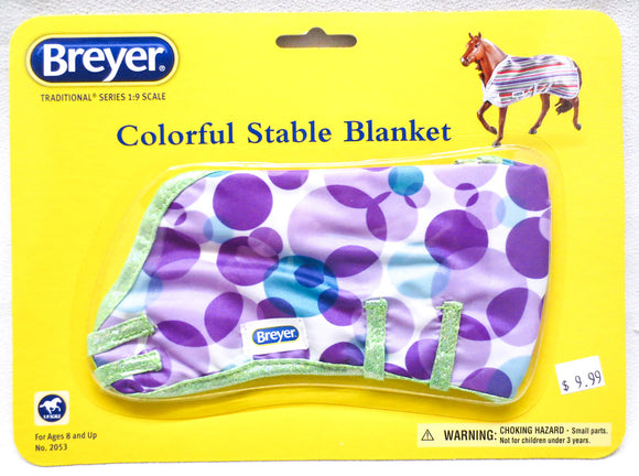 Colorful Stable Blanket - Your Choice of Patterns - triple-mountain
