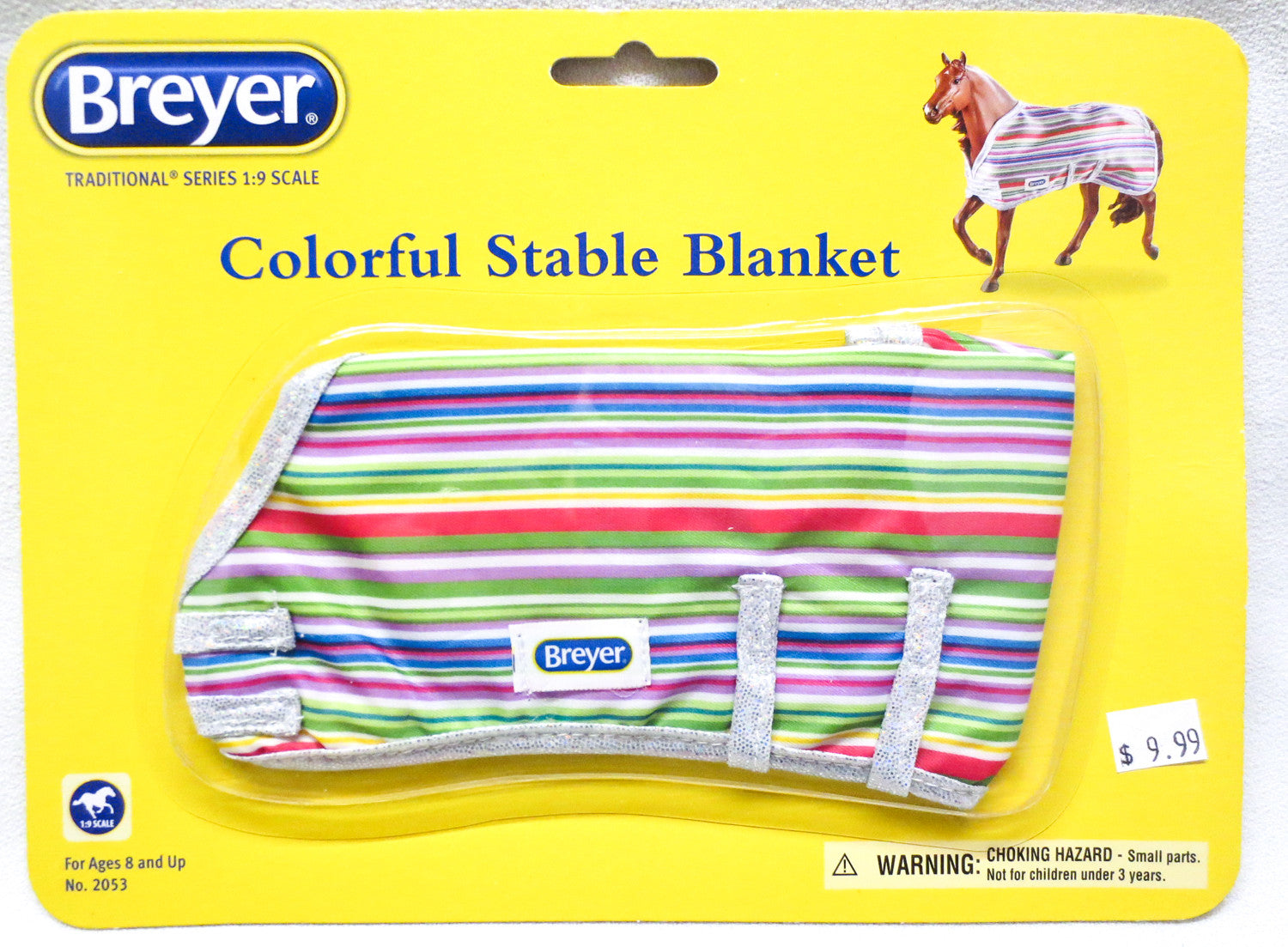 Breyer Colorful Stable Blanket Your Choice Of Patterns Triple Mountain Model Horses