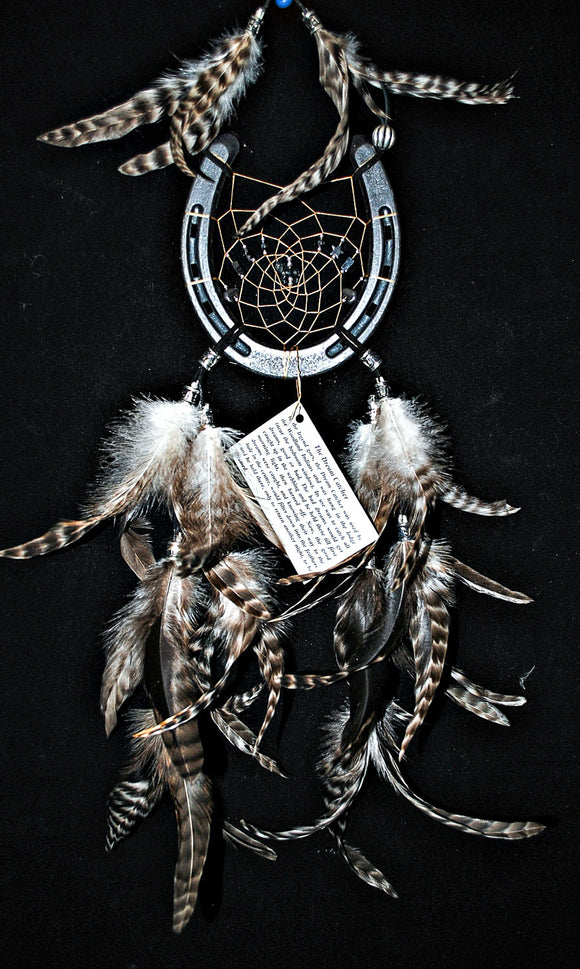Genuine Horse Shoe Dream Catcher
