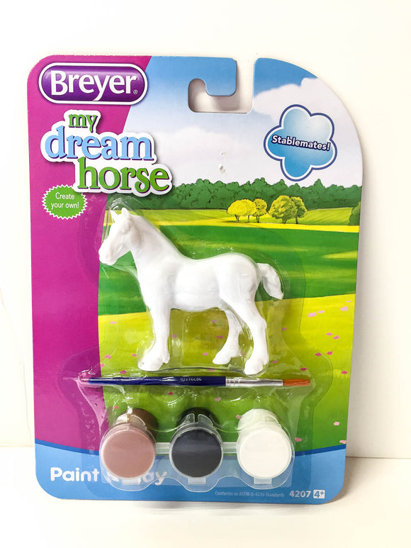 Vaulting Draft Horse - Paint & Play Set