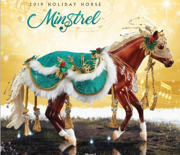 2019 Holiday Horse - Loping Quarter Horse ~ Minstrel - ADVANCE SALE