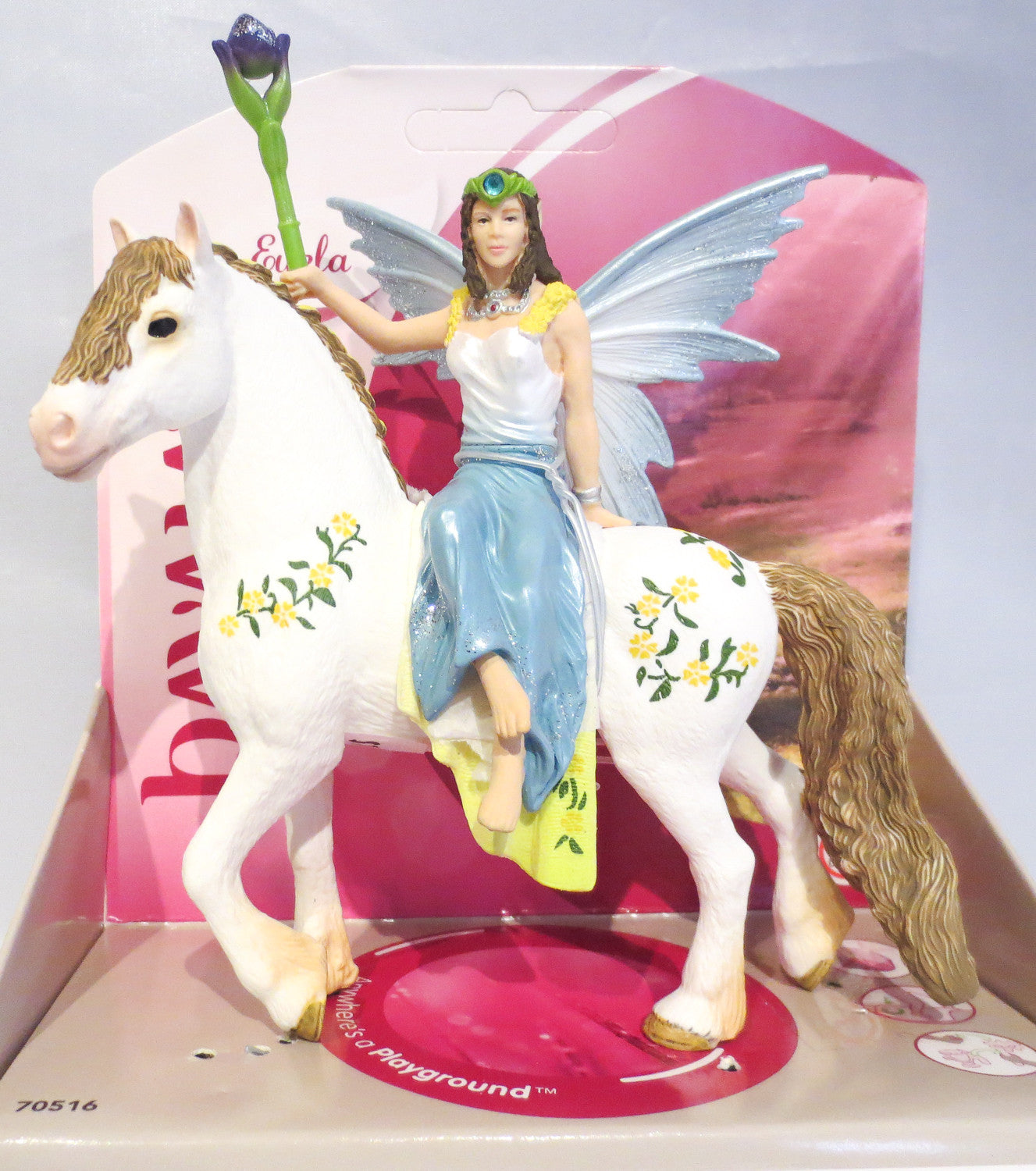 Fairy Eyela and her Magic Steed - triple-mountain