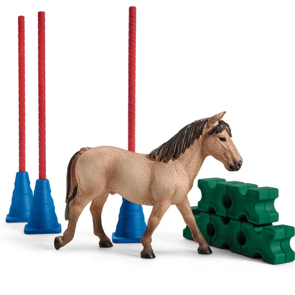 Pony Slalom (Pole Bending & Cavaletti Set)
