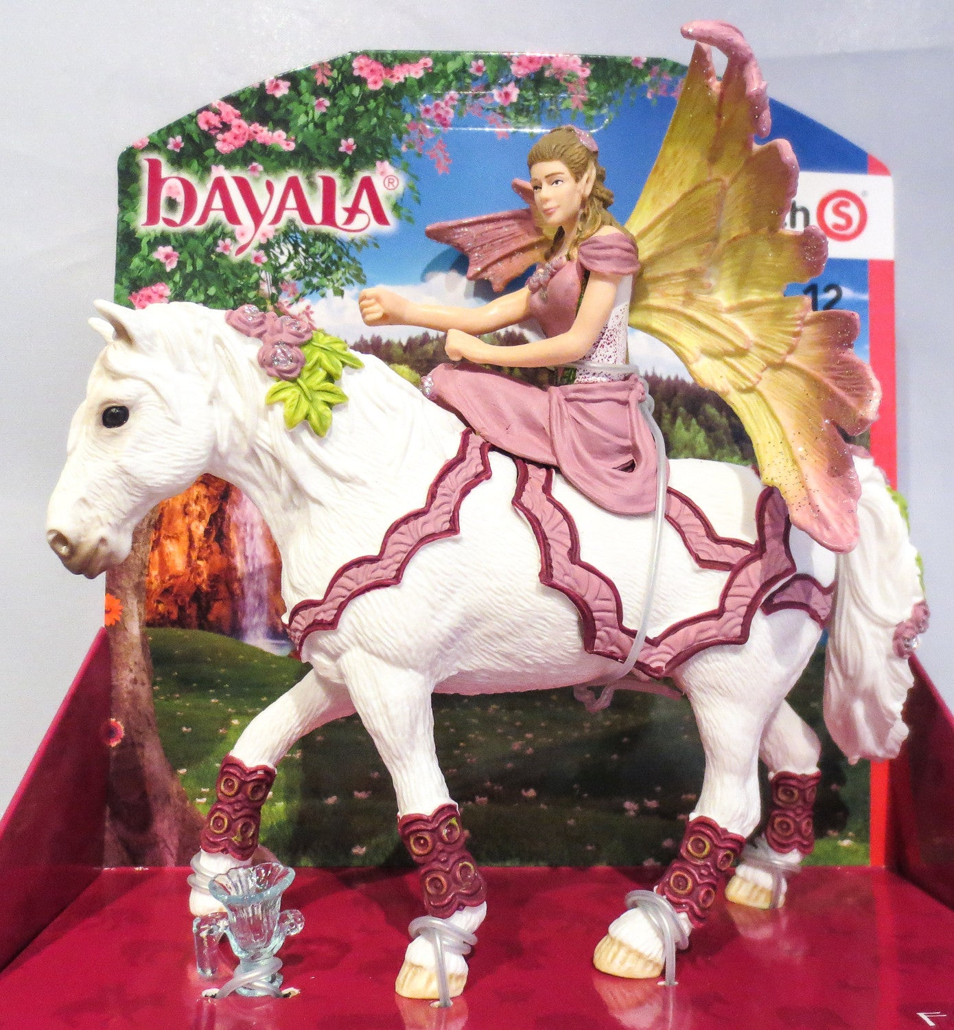 Fairy Feya with her Mystical Horse - triple-mountain