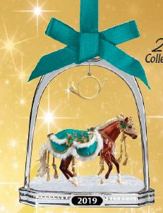 2019 Holiday Stirrup Ornament ~ Minstrel - ADVANCE SALE