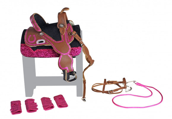 Barrel Racing Tack Set