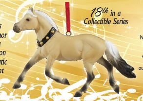 2019 Beautiful Breeds Ornament ~ Fjord - ADVANCE SALE