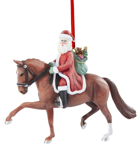 2020 Santa Ornament ~ Dressage Santa